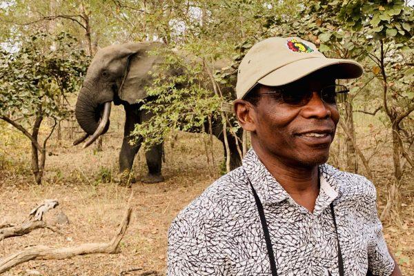 Kofi and Elephant
